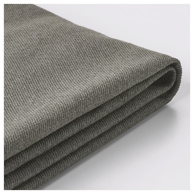 BRÅTHULT Cover for 3-seat sofa, Borred grey-green