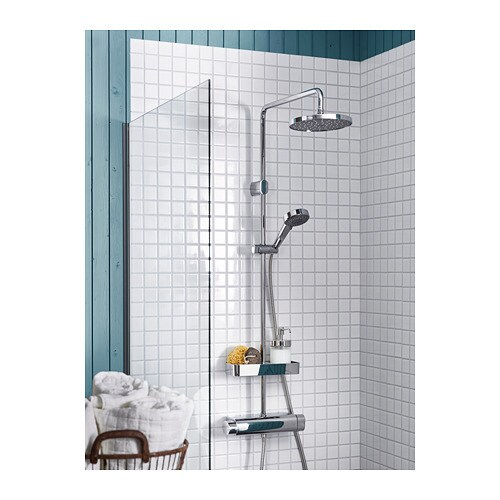 BROGRUND Shower set with thermostatic mixer   10 year guarantee on the mixer and 3 year guarantee on other parts.