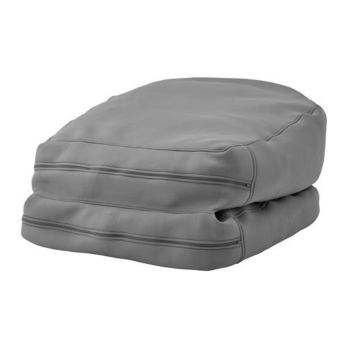 Big Beanie Zitzak.Bussan Beanbag In Outdoor Grey