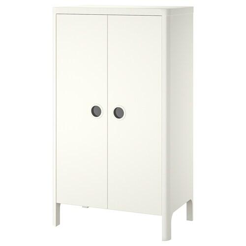 BUSUNGE wardrobe white 80 cm 52 cm 139 cm