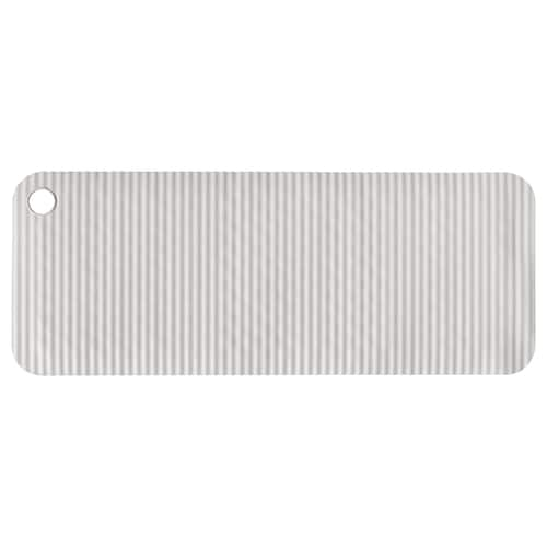 DOPPA bathtub mat light grey 84 cm 33 cm