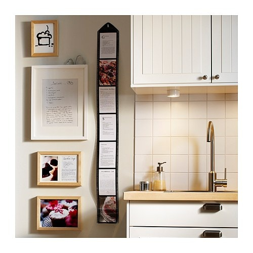 DROPS Collage frame for 7 photos, black