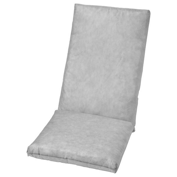 DUVHOLMEN وسادة داخلية لوسادة مقعد/ظهر, خارجي رمادي, 71x45/42x45 سم