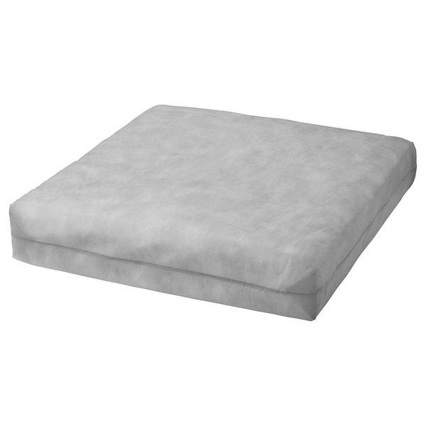 DUVHOLMEN Inner cushion for seat cushion, outdoor grey, 62x62 cm