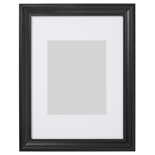 EDSBRUK frame black stained 30 cm 40 cm 21 cm 30 cm 20 cm 29 cm 37 cm 47 cm