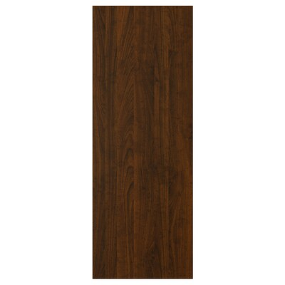 EDSERUM Cover panel, wood effect brown, 39x106 cm