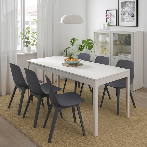 Ekedalen Odger Table And 4 Chairs