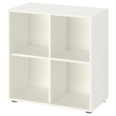EKET تشكيلة خزانات بأرجل, أبيض, 70x35x72 سم