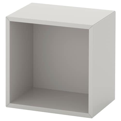 EKET wall-mounted shelving unit light grey 35 cm 25 cm 35 cm