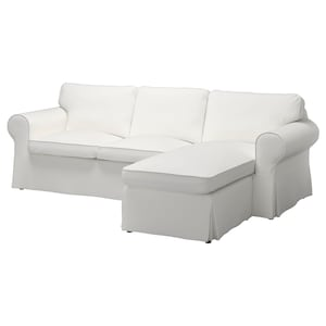 Cover: With chaise longue/vittaryd white.