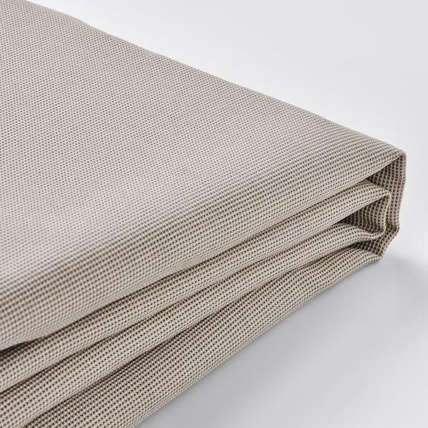 EKTORP Cover for corner sofa, 4-seat, Totebo light beige
