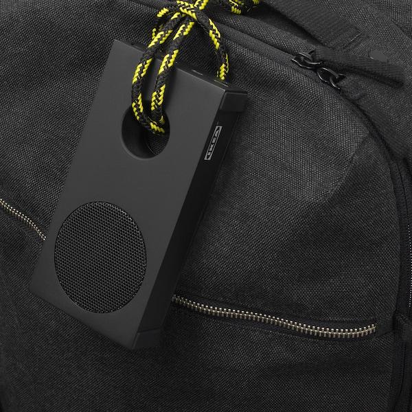 ENEBY Portable bluetooth speaker, black, 5x5.5 cm - IKEA