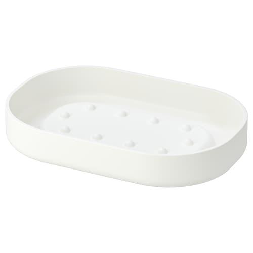 ENUDDEN soap dish white 12 cm 8 cm 2 cm