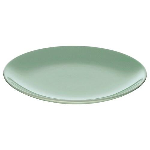 FÄRGRIK side plate light green 21 cm