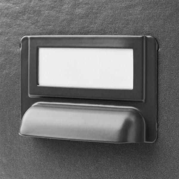 FJÄLLA storage box with lid dark grey 35 cm 26 cm 36 cm 25 cm 20 cm