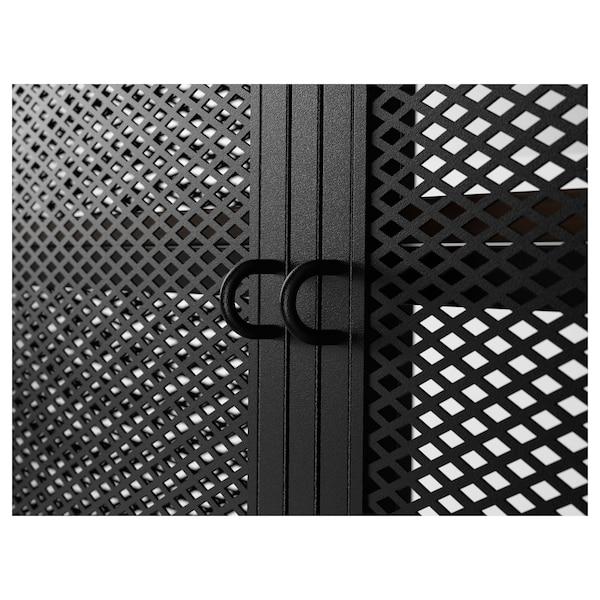 FJÄLLBO طاولة تلفزيون, أسود, 100x36x54 سم
