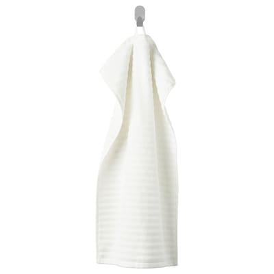 FLODALEN منشفة يد, أبيض, 40x70 سم