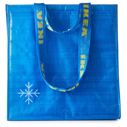 FRAKTA cool bag blue 38 cm 20 cm 40 cm