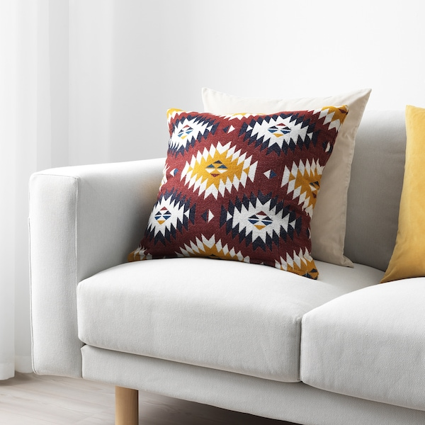 FRANSINE غطاء وسادة, عدة ألوان, 50x50 سم