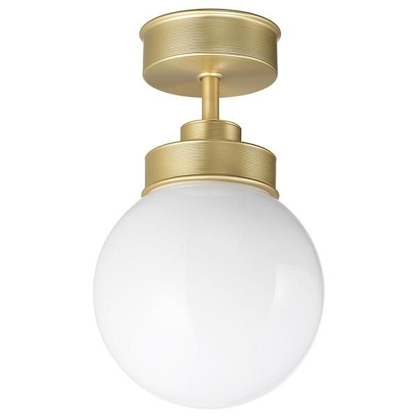 FRIHULT ceiling lamp brass-colour 5.3 W 25.0 cm 15 cm