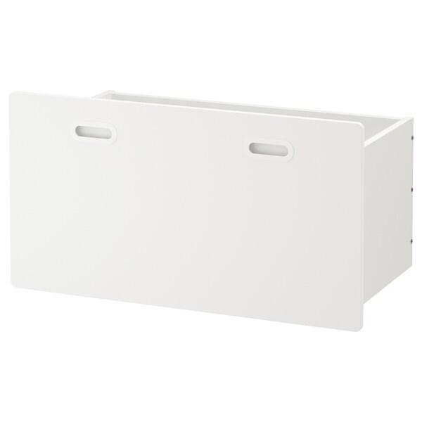 FRITIDS صندوق, أبيض, 90x49x48 سم