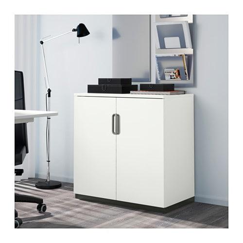 GALANT Cabinet with doors - grey - IKEA