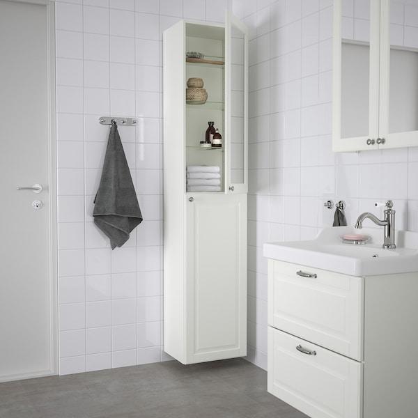 GODMORGON خزانة عالية, Kasjön أبيض, 40x32x192 سم