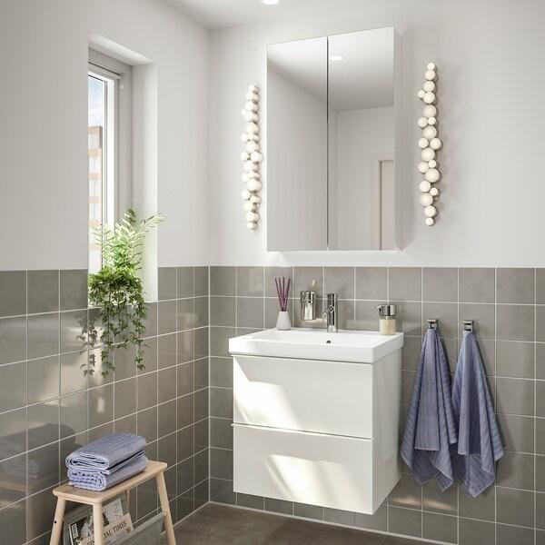 GODMORGON / ODENSVIK Bathroom furniture, set of 4 - high ...