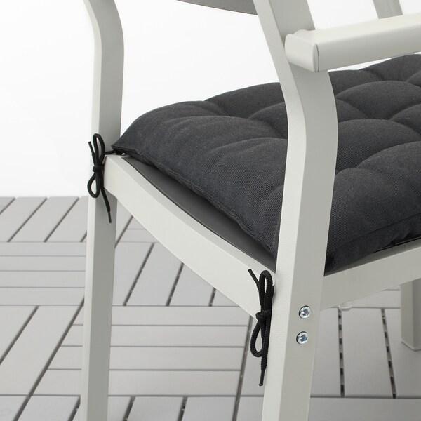 HÅLLÖ chair cushion, outdoor black 44 cm 44 cm 6 cm