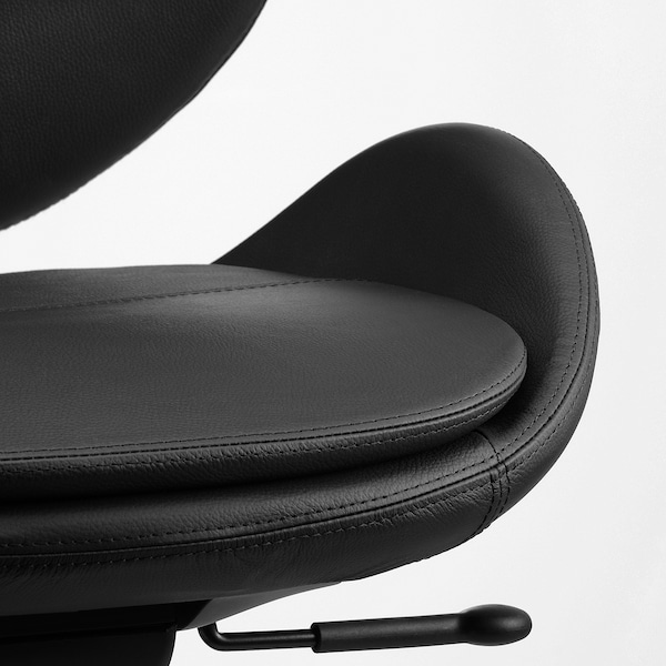 HATTEFJÄLL Office chair, Smidig black