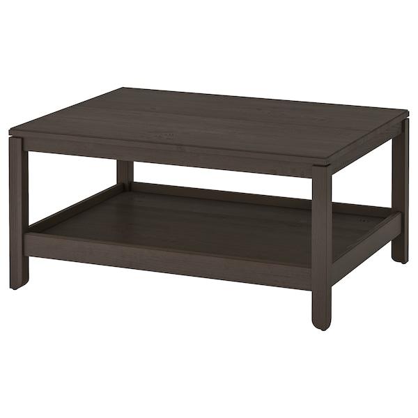HAVSTA Coffee table, dark brown, 100x75 cm