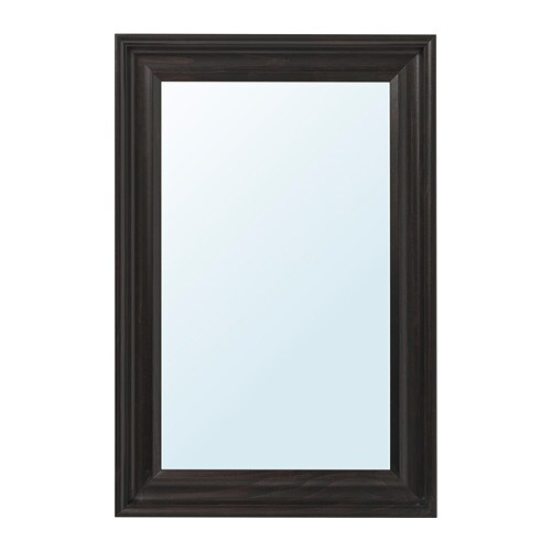 Hemnes Mirror Black Brown Ikea