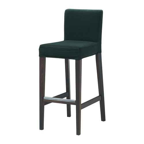 Henriksdal Dining Chair Slipcover Bar Stool Cover Barstool From Knesting