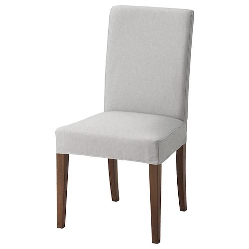 HENRIKSDAL chair brown/Orrsta light grey 110 kg 51 cm 58 cm 97 cm 51 cm 42 cm 47 cm