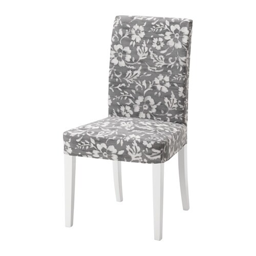 HENRIKSDAL Chair Hovsten Grey White IKEA