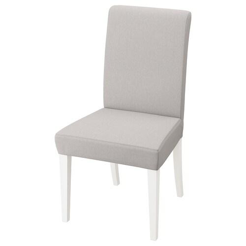 HENRIKSDAL chair white/Orrsta light grey 110 kg 51 cm 58 cm 97 cm 51 cm 42 cm 47 cm