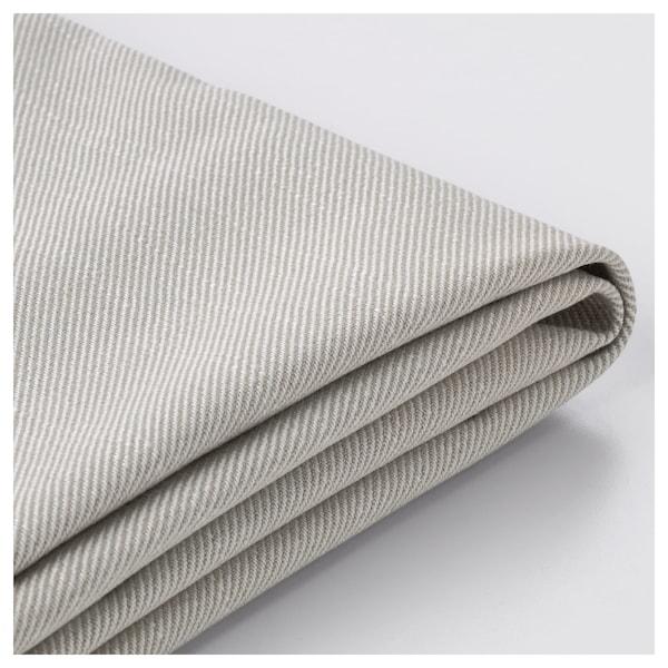 HOLMSUND Three-seat sofa-bed cover, Nordvalla beige