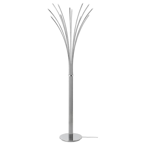 HOVNÄS floor lamp chrome-plated 4 W 204 lm 50 cm 146 cm 25 cm 2.3 m 2.4 W