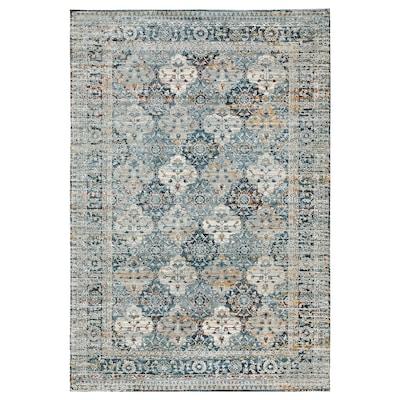 HVIDDING Rug, low pile, multicolour, 133x195 cm