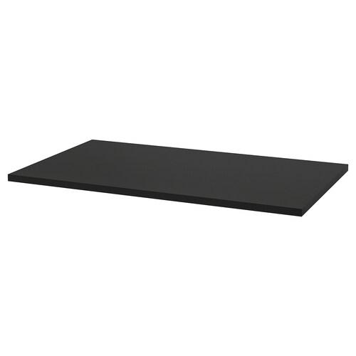 IDÅSEN table top black 120 cm 70 cm 3.0 cm 70 kg