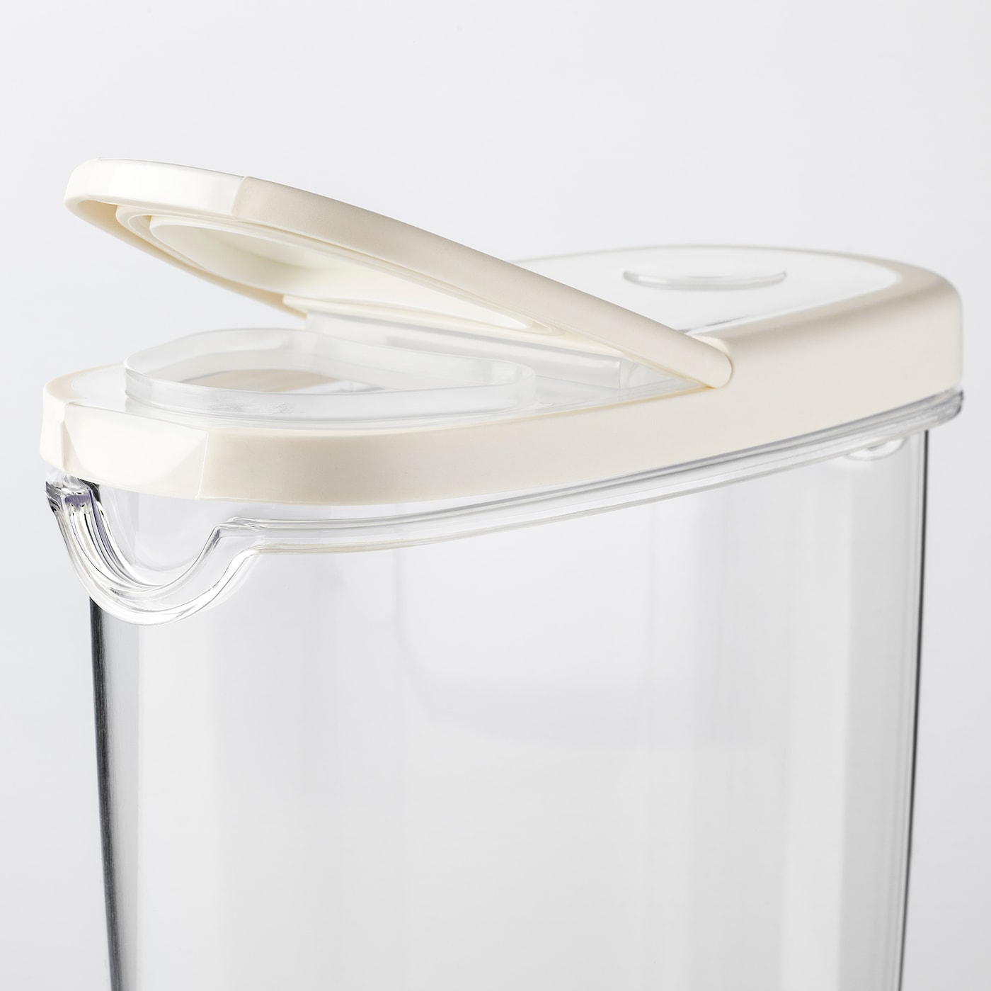 Boite À Cables Ikea ikea 365+ dry food jar with lid - transparent, white 1.3 l