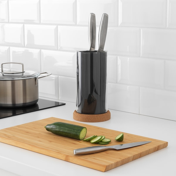 IKEA 365+ knife block 24 cm 13 cm