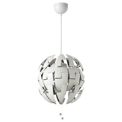 IKEA PS 2014 مصباح معلّق, أبيض/لون-فضي, 35 سم