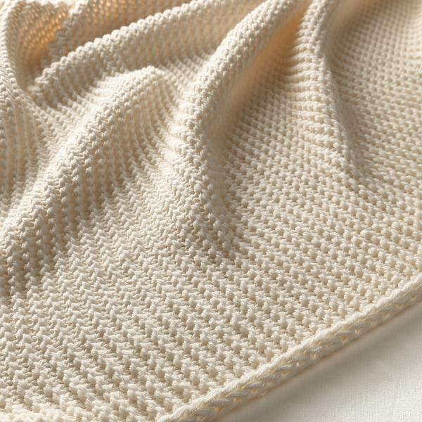 INGABRITTA غطاء, أبيض-عاجي, 130x170 سم