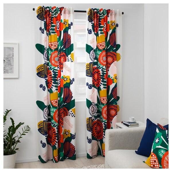 IRMELIN fabric white/multicolour 230 g/m² 150 cm 83 cm 1.50 m²