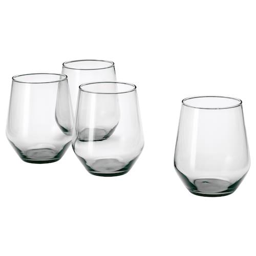 IVRIG glass grey 11 cm 45 cl 4 pack