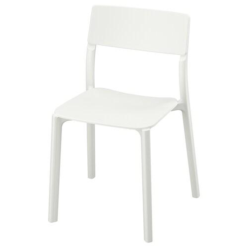 JANINGE chair white 110 kg 50 cm 46 cm 76 cm 40 cm 40 cm 44 cm