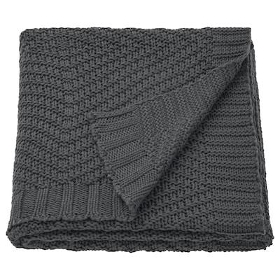 JENNYANN غطاء, رمادي غامق, 130x170 سم