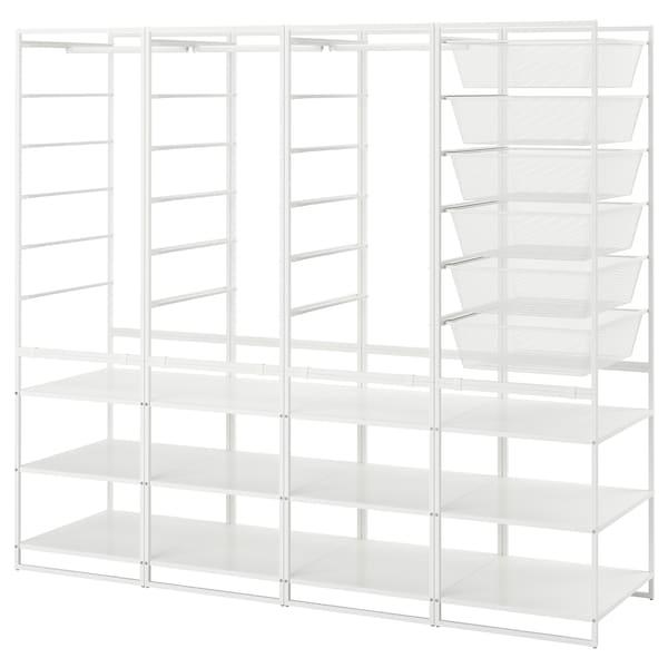 JONAXEL frame/mesh baskts/clths rl/shlv uts 198 cm 51 cm 173 cm