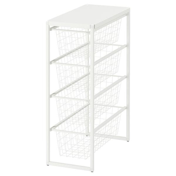 JONAXEL frame/wire baskets/top shelf 25 cm 51 cm 70 cm